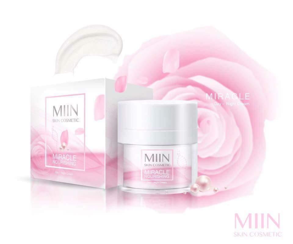 สรรพคุณผลิตภัณฑ์ MIIN miracle nourishing Day-Night cream