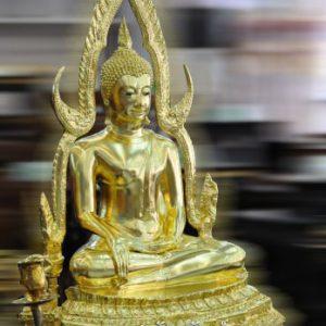 พระพุทธชินราช 9 นิ้ว ปิดทองคำแท้